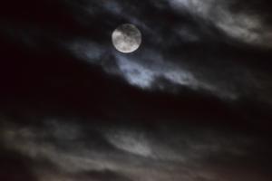 Full moon Christmas Day 2015!