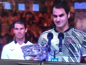There had to be a winner, yet both Rafa and Roger played so well!